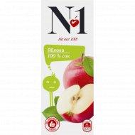 Сок «№1» яблоко, 0.2 л.