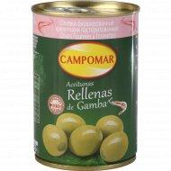 Оливки «Campomar» фаршированные креветками, 280 г.