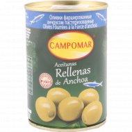 Оливки «Campomar» фаршированные анчоусом, 280 г.