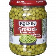 Горошек зеленый из мозговых сортов «Rolnik» высший сорт, 450 г