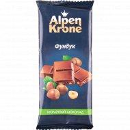 Шоколад «Alpen Krone» фундук, 90 г.
