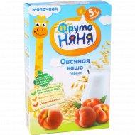 Каша овсяная молочная «Фрутоняня» с персиком, 200 г.