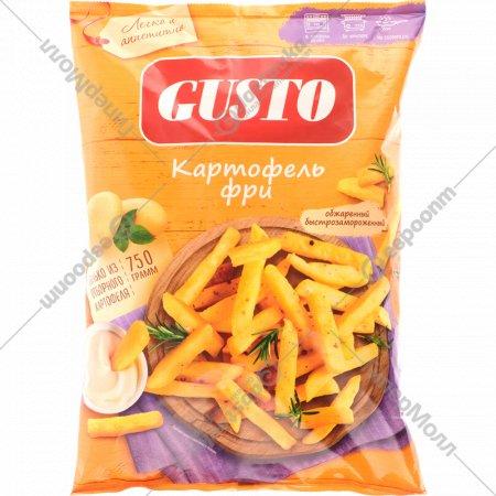 Картофель «Gusto» фри, 750 г.