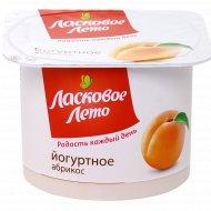 Продукт йогуртный «Ласковое лето» абрикос 2 %, 120 г.