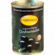 Маслины чёрные «Campomar» без косточки 400 г.