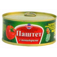 Паштет «Гродфуд» с помидорами, 290 г.