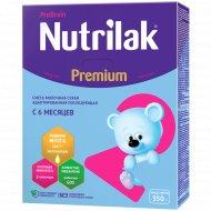 Молочная смесь «Nutrilak» Premium+2, с 6 месяцев, 350 г.