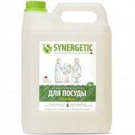 Средство для мытья посуды «Synergetic» с ароматом алоэ, 5 л.