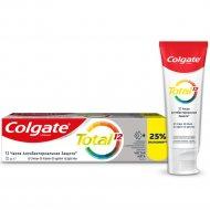 Зубная паста «Colgate» total 12, чистая мята, 125 мл.