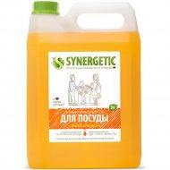 Средство для мытья посуды «Synergetic» с ароматом апельсина, 5 л.