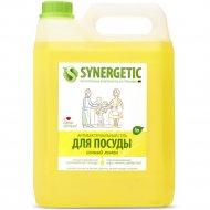 Средство для мытья посуды «Synergetic» с ароматом лимона, 5 л.