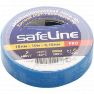 Изолента «SafeLine» синяя, 15 мм/10 м.