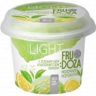 Мороженое «Fru Doza» с зеленым чаем и наполнителем лимон, 120 г.