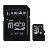 Карта памяти «Kingston» 16GB cl10 UHS-I.