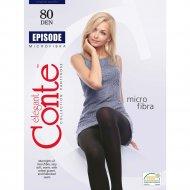 Колготки женские «Conte» Episode, 80 den, размер 4, Nero