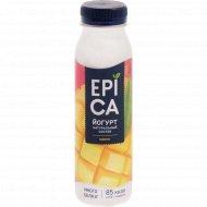 Йогурт питьевой «Epica» 2.5%, с манго, 260 г