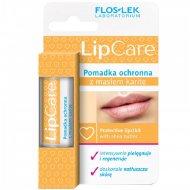 Бальзам для губ «Floslek» LipCare, с маслом ши, 10 г