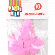 Воздушные шары розовые 10 штук.