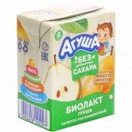 Напиток кисломолочный «Агуша» груша, 2.9%, 200 мл