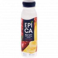 Йогурт питьевой «Epica» 2.5%, с вишней и бананом, 260 г