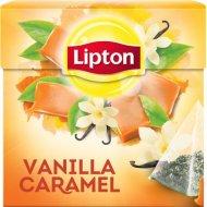 Чай черный «Lipton» ваниль и карамель 20 пакетиков.