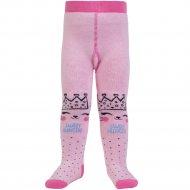 Колготки детские «Conte kids» светло-розовые, размер 62-74.