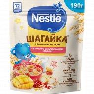 Каша мультизлаковая «Nestle» яблоко и пшеничные фигурки, 190 г