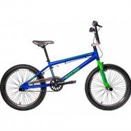 Велосипед «Black Aqua» Х-Jump 20, GL-603V, синий/зеленый
