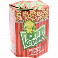 Попкорн «ПоппиКорник» со вкусом клубники со сливками, 90 г.