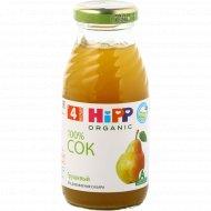 Сок детский «Hipp» Organic, грушевый, 200 мл.