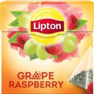 Чай черный «Lipton» grape raspberry 20 пакетиков.
