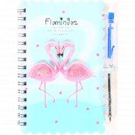 Блокнот «Flamingos» М-3666, 10.3х14 см, 30 листов.