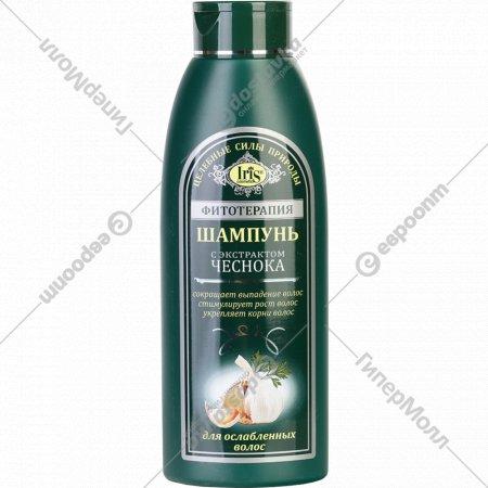 Шампунь «Iris Cosmetic» с экстрактом чеснока, 500 мл.