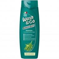 Шампунь для сухих волос «Wash&Go» с экстрактом алоэ вера, 200 мл