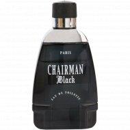 Парфюмированная вода «Chairman Black» для мужчин, 100 мл.