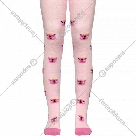 Колготки детские «Conte kids» светло-розовые, размер 104-110.