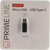Адаптер «Prime Line» Micro USB Type C.