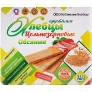 Хлебцы хрустящие «Кубанские» овсяные, 100 г