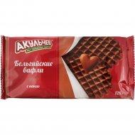Вафли «Бельгийские» с какао, 126 г