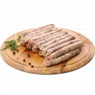 Колбаски сырые «Для гриля» охлажденные, 1 кг., фасовка 0.6-0.9 кг