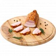 Продукт из свинины «Грудинка майская» копчено-вареный, 1 кг., фасовка 0.15-0.35 кг