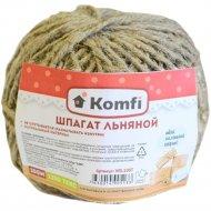 Шпагат «Komfi» льняной, 100 м.