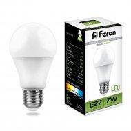 Лампа светодиодная «Feron» 230 V, Е27, 4000 K, LB-91, 7W.