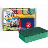Губка для мытья посуды «Azur» 5 шт.