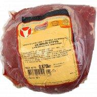 Мясо бескостное говяжье «Шейный отруб» охлаждённое 1 кг., фасовка 0.53-0.99 кг