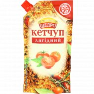 Кетчуп «Щедро» нежный, 300 г.