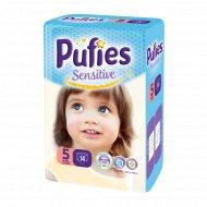 Подгузники для детей «Pufies Sensitive» Junior 14, 11-20 кг.