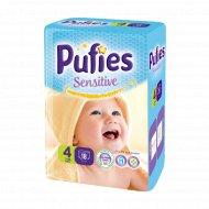 Подгузники для детей «Pufies Sensitive» Maxi 18, 7-14 кг.
