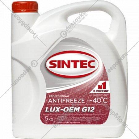 Антифриз «Sintec-40» G12, lux, 4.3 л.