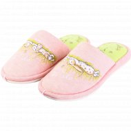 Обувь домашная для девочек «Lucky land» 3056K-LMC-W.